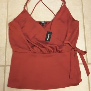 Express Strappy Top Size Medium